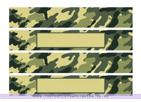 printable army name tags army camo napkin cup wrappers free printables 187 the