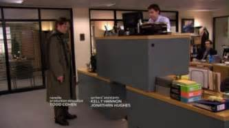 mega desk stacked pam s and dwight s desks to form quot desk