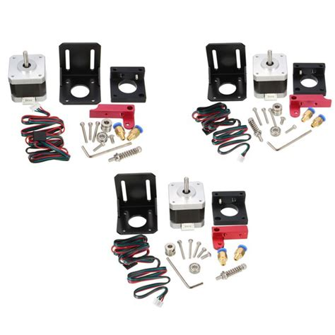 Mk8 All Metal Remote Extruder 175mm3mm mk7 mk8 all metal remote extruder kit for 1 75mm filament