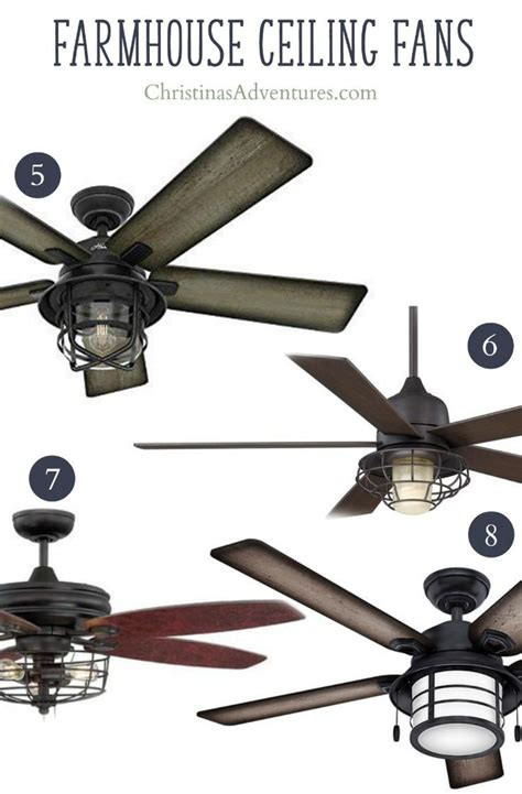 ceiling fan with lots of light best 25 farmhouse ceiling fans ideas on