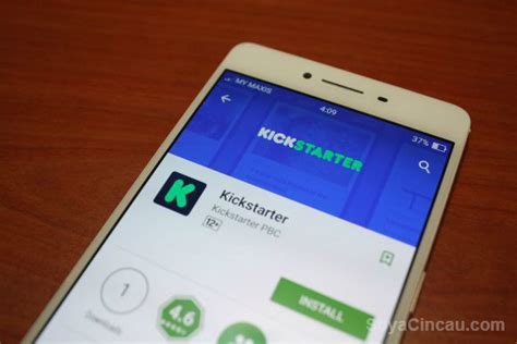 app design kickstarter kickstarter releases its android app