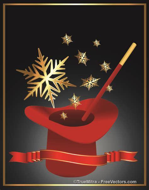 download free christmas magic vector illustration