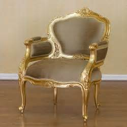 Vintage French Armoire Gold Gilt Style Chair Antique Wicker Chair