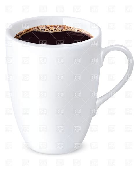 big coffee big cup of coffee 27706 food and beverages royalty free vector clip eps