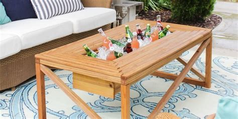 diy patio coffee table outdoor coffee table diy outdoor coffee table how to make an outdoor coffee table genie