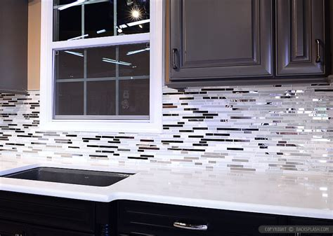 metal kitchen backsplash tiles 5 modern white marble glass metal kitchen backsplash tile