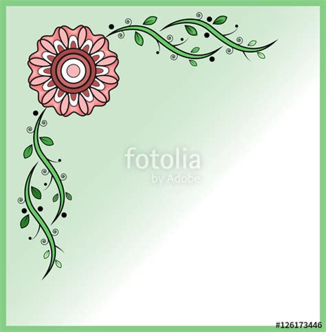cornici per biglietti di auguri quot vector illustration of a floral frame for greeting card