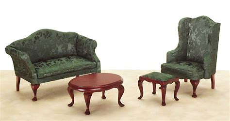 Miniature Living Room Furniture by Living Room Set From Fingertip Fantasies