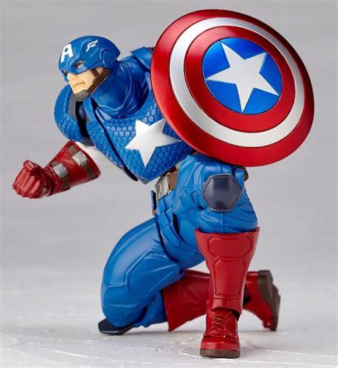 captain pose revoltech captain america figure pre order official