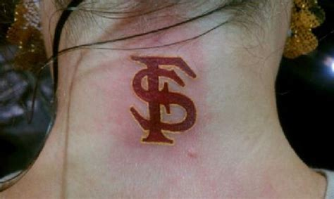 fsu tattoos florida state die picture at
