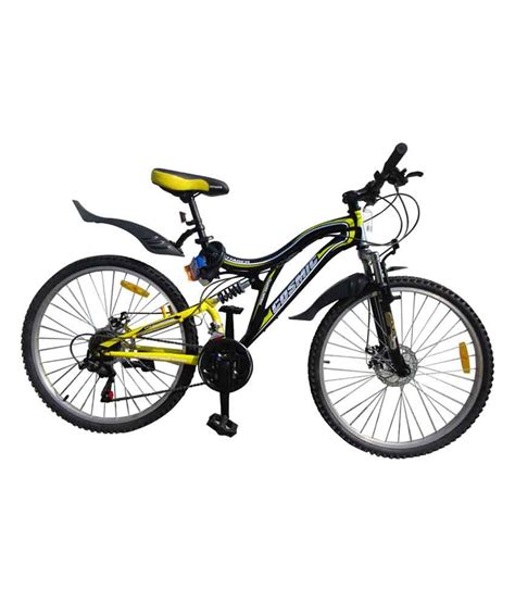 Cycil Gr cosmic voyager 21 speed gear yellow bicycle 26t special