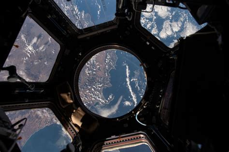 cupola iss s year in space the boston globe