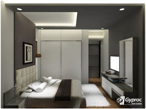 false ceiling in bedroom let the shades of gray make your luxurious bedroom stand