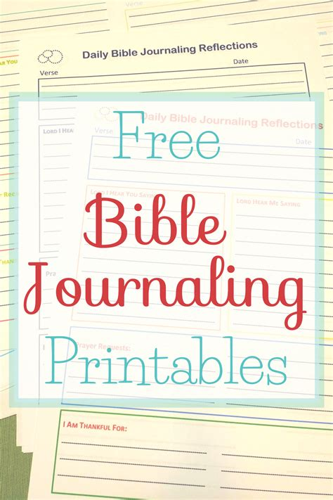 printable christian journal pages free bible journaling printables the littlest way