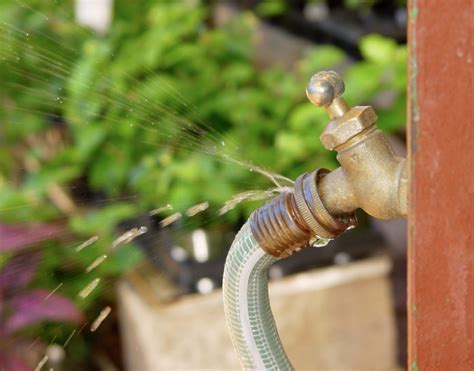 How To Fix A Leaky Hose Faucet by How To Fix A Leaking Garden Hose Networx