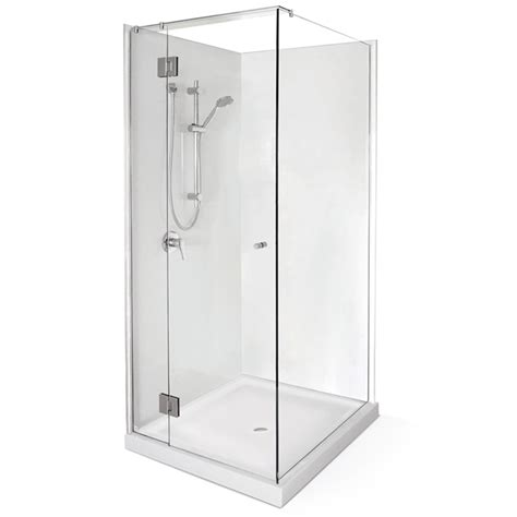 Selang Shower Steinlist stein project shower door only 1000mm bunnings warehouse