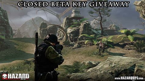 Beta Key Giveaways - hazard ops closed beta key giveaway
