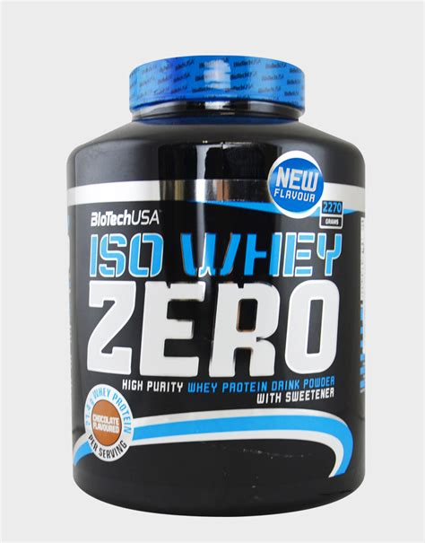 Iso Whey Iso Whey Zero By Biotech Usa 2270 Grams 62 73