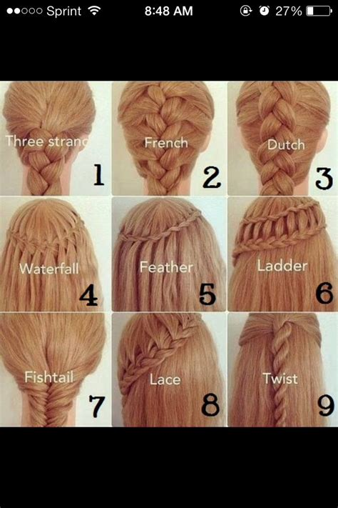 beautiful hairstyles and their names musely