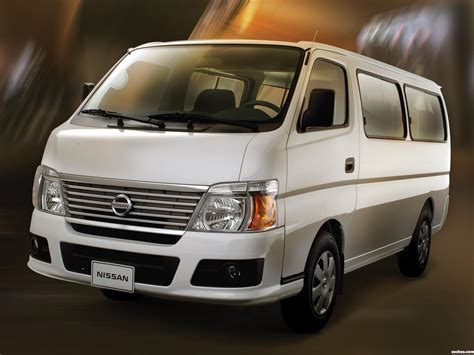 nissan urvan modification preview