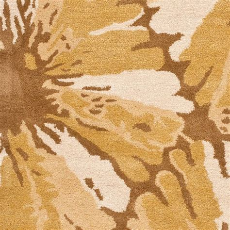 Yellow And Brown Area Rugs Soho Yellow Brown Area Rug Soh729c Contemporary Rugs By Zopalo