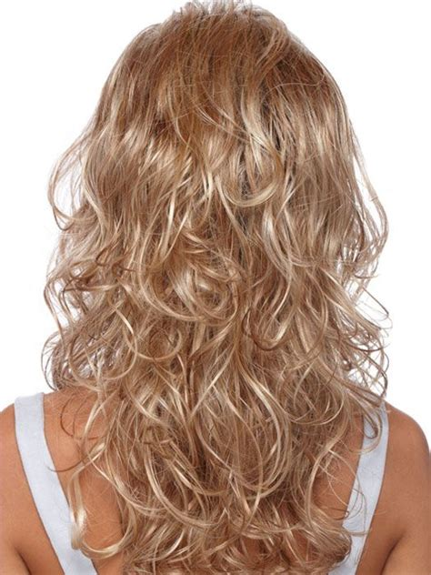 curly hairstyles for long hair back view long curly layered back view hairstyles long wavy hair