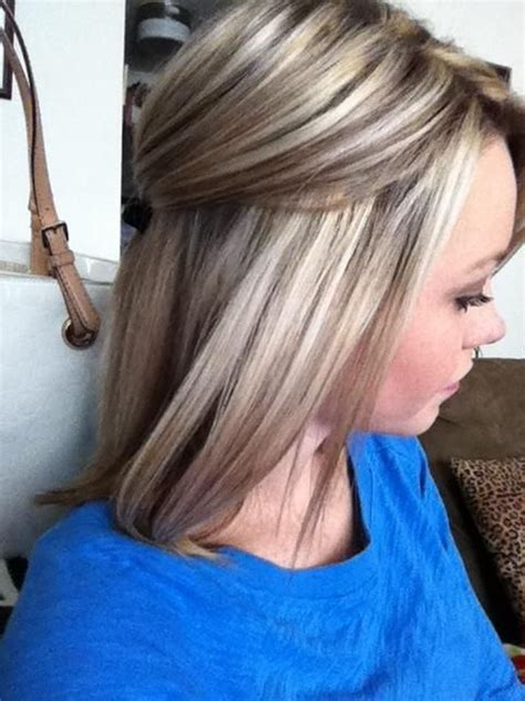 blonde hairstyles winter 2015 highlights and low lights i really like this maybe for