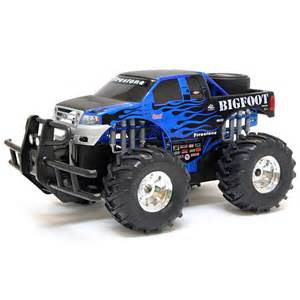 bright 1 14 scale remote control function big foot monster truck free shipping