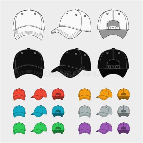 Baseball Cap Vector Template Stock Vector Image 54831169 Hat Template Illustrator