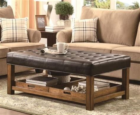 coffee table for leather sofa best 25 leather coffee table ideas on coffee
