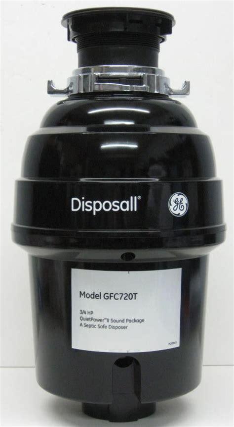 kitchen sink garbage disposal motor gfc720 ge garbage disposall food waste disposer 3 4 hp