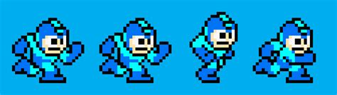 construct 2 megaman tutorial tutorial how to make a run cycle in pixel art