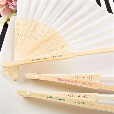 personalized folding fans wholesale personalized white silk folding fan