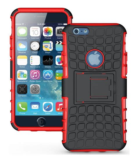 Rugged Iphone 7 47 Softhard Back Stand Dual Armor Cover 2801 heartly flip kick stand dual armor hybrid rugged bumper back cover for apple