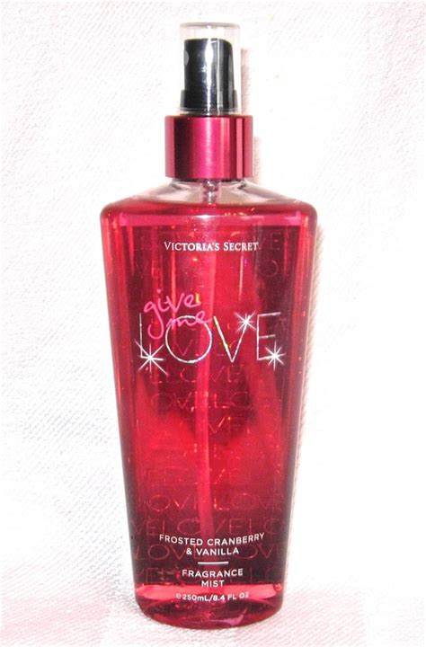 love me victorias secret perfume a new fragrance for victoria secret give me love frosted cranberry vanilla