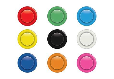 button button colorful arcade button set download free vector art