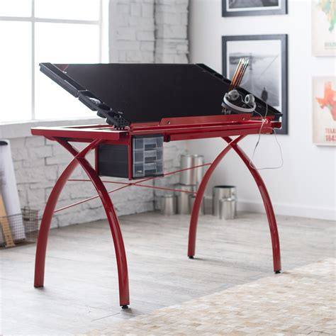 studio designs glass drafting table studio designs futura glass top drafting station