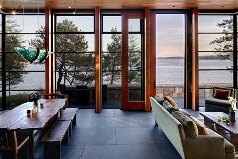 slate living room floor driftwood dining table dining room modern with display artwork black beeyoutifullife