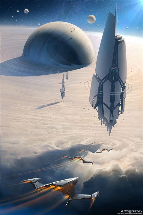 Sci Fi by The Fantastic Of Svyatoslav Gerasymchuk Sci Fi Artist
