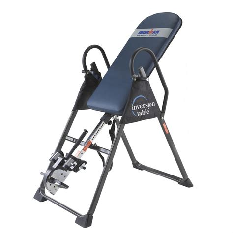 gravity swing inversion table ironman 174 gravity 4000 inversion table 168391 inversion