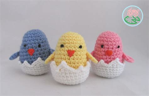 crochet pattern easter free pattern amigurumi hatching easter chicks toma