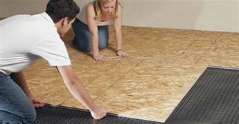 Basement Floor Underlayment Platon Flooring Installation Flickr Photo