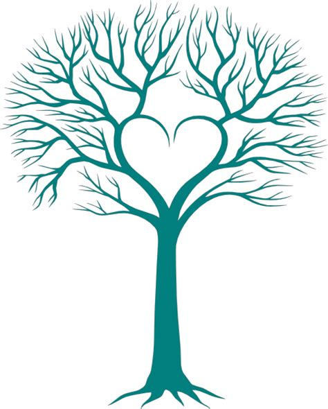 tree hearts family tree with clip clever crafts