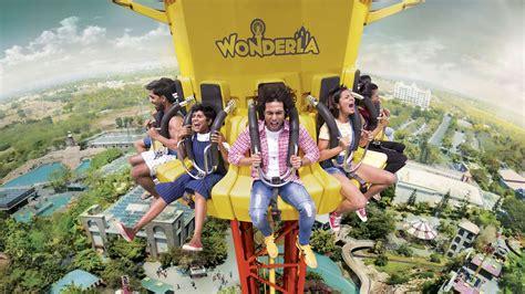 Wonderla Amusement Park Bangalore Images