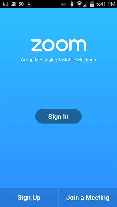 android zoom getting started with android zoom help center