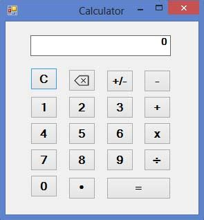 calculator visual basic designing a calculator in visual basic 2013 part 1