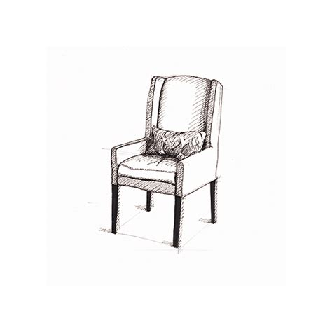 Sketch Chair by Prints Arm Chair Sketch Circa 2005 At Minted