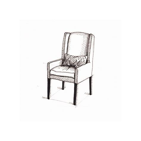 prints arm chair sketch circa 2005 at minted