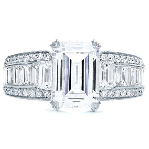 emerald cut engagement ring 192