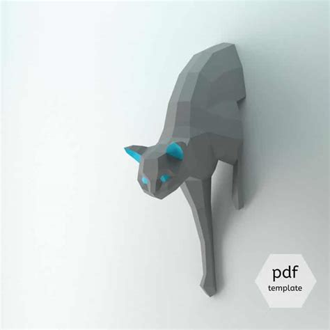 Papercraft Pdf - 3d paper craft origami lets you build animal to hang